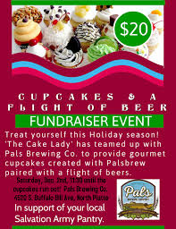 Cupcake Flight Of Beers Pairing Fundraiser Event