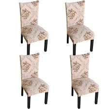 Amazon.com: JMYDecor 4 X Soft Spandex Fit Stretch Short Dining Room ... Pin By Lynne Bourn On Wedding In 2019 Chair Decorations Ding Room Chair Covers Sew Or Staple Craft Buds Slipcover For Sure Fit Soft Suede Shorty How To Make Diy High Cover Tutorial Mary Martha Chairs Black Childrens Patterns Sofas Purple Dani Pillows And Throws Seat Table Grey Parson Fniture Wingback Pattern Design Stretch Stool Protectors M Rocking Covers Current Teresting Modest Cover Pattern Rowico Lulworth Beige Loose Striped Linen White Adorable Teal Kitchen 2018 European Floral