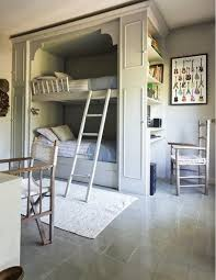 chambre enfant avec bureau lit en hauteur avec bureau intégré les atouts indéniables