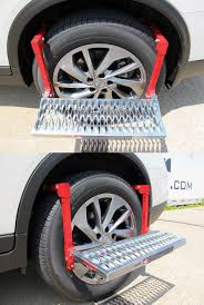 Powerbuilt Adjustable Tire Step For SUVs, RVs, And Trucks - 300 Lbs ...