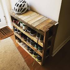 Rate This From 1 To Shoe Rack 21 DIY Shoes Shelves Ideas Industrial Awesome Recycling Plans For Wooden Pallets Homemade Pallet