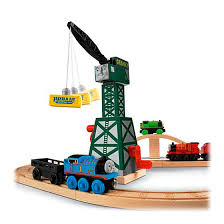 Tidmouth Sheds Deluxe Set by Thomas U0026 Friends Wooden Railway Tidmouth Sheds