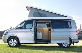 VW Campervan With Pop Top Roof