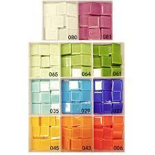 180pcs lot 18 color 2 4cm mosaic scramble tiles mosaic