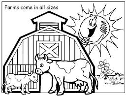 Good Coloring Pages Farm 67 About Remodel Print With