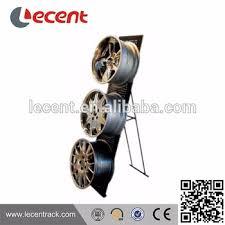 Lecent Car Rim Wheel Display Stand