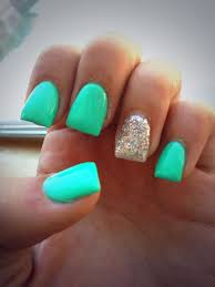 Best 25 Teal Nail Designs Ideas On Pinterest
