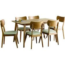 Wayfair Modern Dining Room Sets by 7 Piece Mid Century Modern Kitchen U0026 Dining Room Sets You U0027ll Love