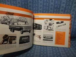 100 Texan Truck Accessories 1964 Ford Dealer Showroom Accessory Selector Facts Book
