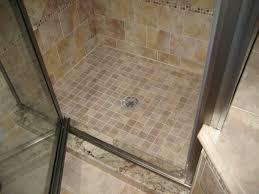 manificent decoration tiled shower floor ideas small bathroom
