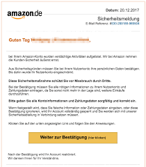 amazon si e amazon phishing aktuell gefälschte e mails im umlauf spam alarm