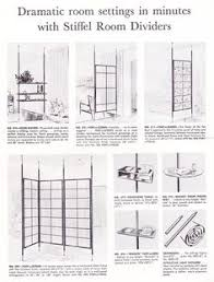 Floor To Ceiling Tension Pole Room Divider by Vintage Tension Pole Shelving Unit Room Divider Shelves Mid