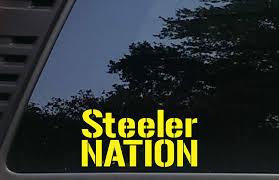 100 Nation Trucks Amazoncom Steeler 7 X 3 12die Cut Vinyl Decal For Cars