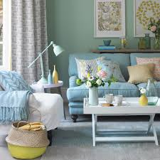 Teal Color Living Room Decor by Alwinton Corner Sofa Handmade Fabric Duck Egg Living Room