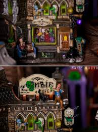 Lemax Halloween Houses 2015 by Spooky Town Collection Connecticut Halloween Marisa Balletti