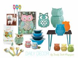 Whimsical Owl Kitchen Decor