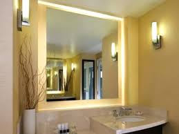 lighted vanity mirror for lighted wall makeup mirror