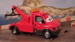 100 Tow Truck From Cars Disney Pixar 2 In Eoin Mater Unboxing YouTube