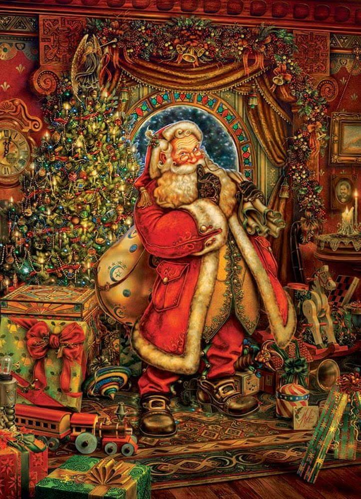 Cobble Hill Christmas Presence Jigsaw Puzzle 1000 PC