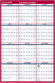 Decorative Desk Blotter Calendars by 2 Sided Erasable Wall Calendar Pm26 At A Glance