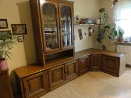 wohnzimmerschrank anbauwand mit ecke eiche rustikal in