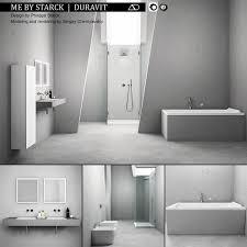 Bathroom Furniture Set ME By Starck Duravit 3D Model