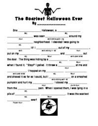 Halloween Mad Libs Esl by Grade 5 Halloween Worksheet Cryptogram Cryptic Message