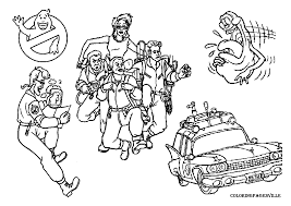 Ghostbusters Coloring Pages 15 Pictures