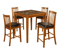 7 Piece Dining Room Set Walmart by Dinette Furniture Leather Narrow Dining Table And Chairs Room 67