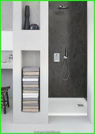 dekoration ideen badezimmer duschwanne rechteckige dusche