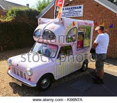 Austin Morris Mini Van Conversion To Ice Cream Circa 1979