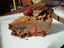 erdbeer schoko sahne torte