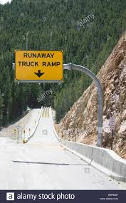 Runaway Truck Ramp Sign Stock Photo: 24316062 - Alamy Runaway Truck Ramp In Canada Stock Photo More Pictures Of 2015 Ahead Yellow Road Sign Image Semi Hauling Beer Rolls Off Cbs Denver Roaming Rita Ramps This Is Why Could Save Your Life Free Trial Bigstock Massachusetts Turnpike Eastbound In Ru Monarch Pass Windshield Wipers Were Flickr Stock Photo Breaks Pathway 74103964 Highway Warning Caution 2 Miles U S Students Watching The To
