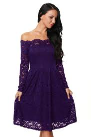 popular purple gown long dress off shoulder sleeve buy cheap