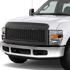 100 Ford Truck Grill DNA Motoring For 20082010 F250F350 Super Duty Matte Black