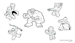 Avengers Coloring Page Superhero Pages Printable Marvel Unite