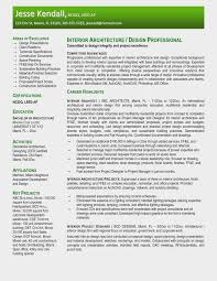 Architect Resume Samples Inspirational Examples Best 15
