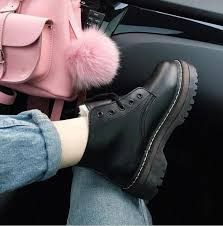 ItGirl Shop AUTUMN AND WINTER PLATFORM VINTAGE BOOTS Aesthetic Apparel Tumblr Clothes Soft Grunge