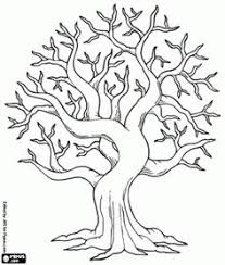 Bodhi Tree Coloring Page