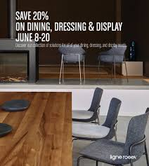 100 Projects Contemporary Furniture Ligne Roset Dining Dressing Display Promotion