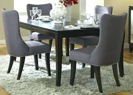Gray Dining Chairs Room Photos Accordance Modern With House Themes White And Wood Kitchen Unique Low Target