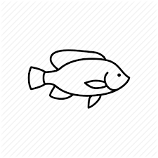 512x512 Fish Menu Restaurant Sea Seafood Sealife Tilapia Icon