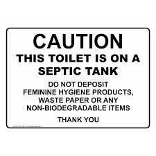 Printable Bathroom Sign In Sheet by Do Not Throw Towels Or Feminine Products In The Toilet Sign Nhe 15893