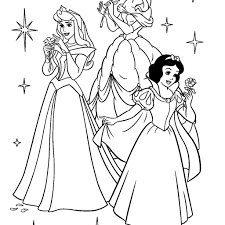Beautiful Princess Coloring Pages Frozen 17 For Download With
