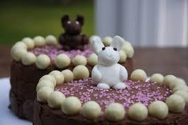 Chocolate Birthday Cakes – bunny delight – lovinghomemade