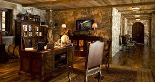 Rustic Home Office Designs