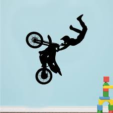 aliexpress buy motocross motor bike wall decor removable