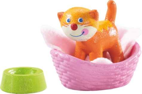 Haba 302094 Little Friends Cat Kiki Doll House Figure Toy Set