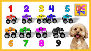 Learn To Count To 10 With Monster Trucks   Educational Cartoon For ... Video Monster Vehicles Truck Car More The Carl The Super And Hulk In City Cars Fire Team Vs Youtube Kids Top 17 Trucks I Want To See At Monster Jam Tacoma 2015 Scary For Halloween Special Kids Haunted House Garage Race Episodes 1 11 Batman And Deadpool Surprise Egg Vs Wolverin Trucks For Children Red Easy On Eye Grave Digger Toys Feature Year Old Baby Driving Truck