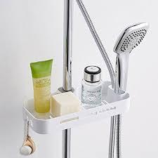 edelstahl duschablage zum hängen badezimmer duschkorb mit